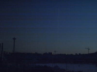 Anne Frédérique Préaux - Early morning Seattle (2013)
