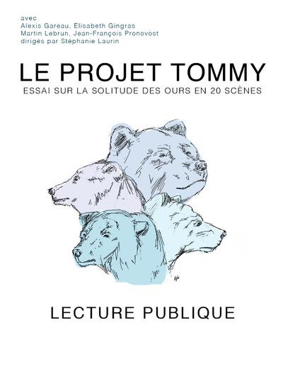 Anne Frédérique Préaux - Le Projet Tommy (2013)