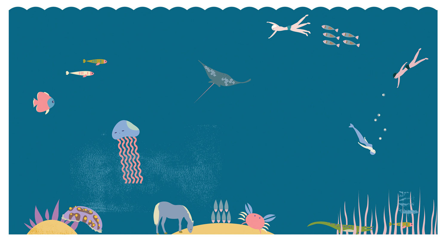 Portfolio:Doran Woo - Swimming under the sea / personal