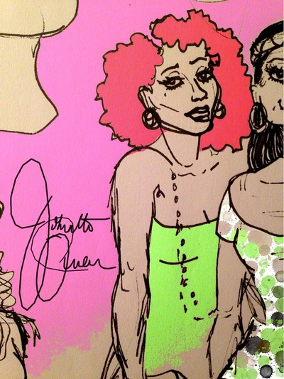 Johnetta Queen - Illustrator -
