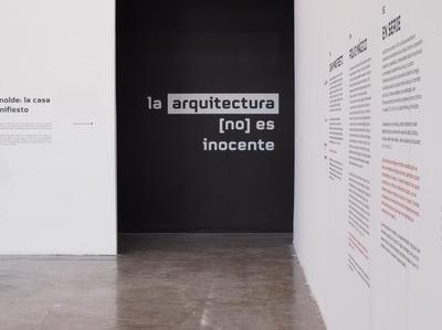 Lucía Villers - Casa Manifiesto. Galería José Luis Benlliure FA UNAM. 2017