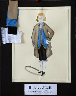 Ariel Wang - The Barber of Seville - Count Almaviva as Student