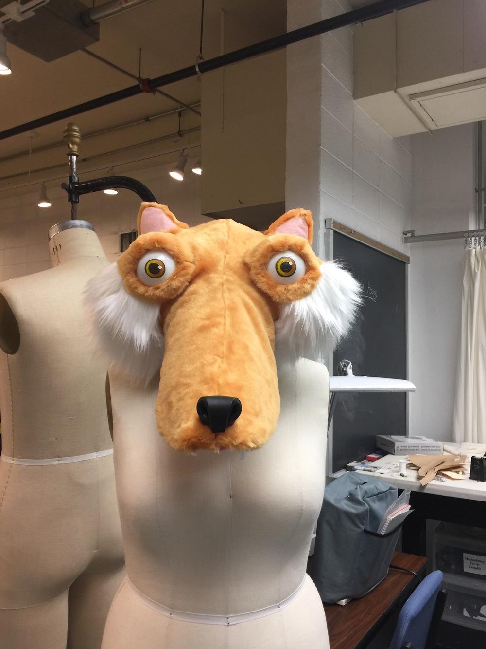 Ariel Wang - Ice Age Scrat Mascot head -- Foam