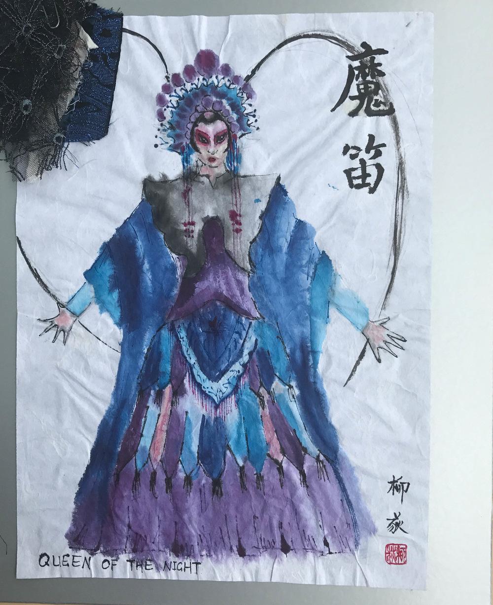 Ariel Wang - Queen of the Night