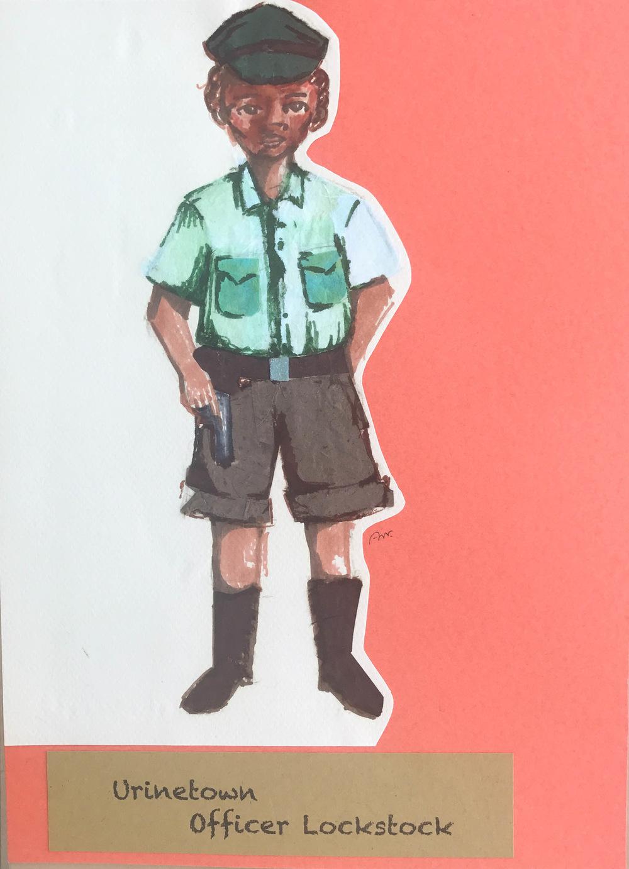Ariel Wang - Urinetown-- Officer Lockstock