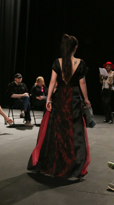 Ariel Wang - The back of the dress