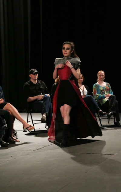 Ariel Wang - The dress in on the runway