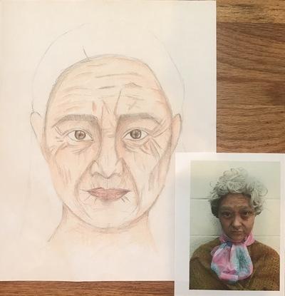Ariel Wang - Old age make up