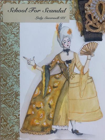 Ariel Wang - Lady Sneerwell II