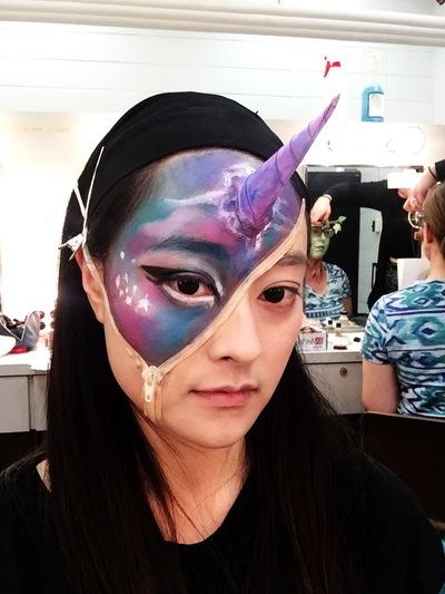 Ariel Wang - 3D makeup