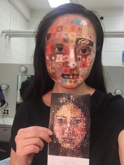 Ariel Wang - Modern art makeup