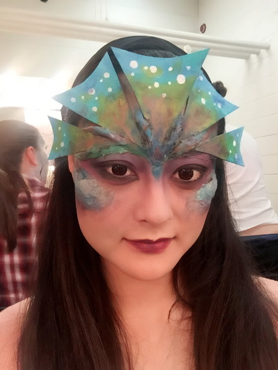 Ariel Wang - Sea creature makeup