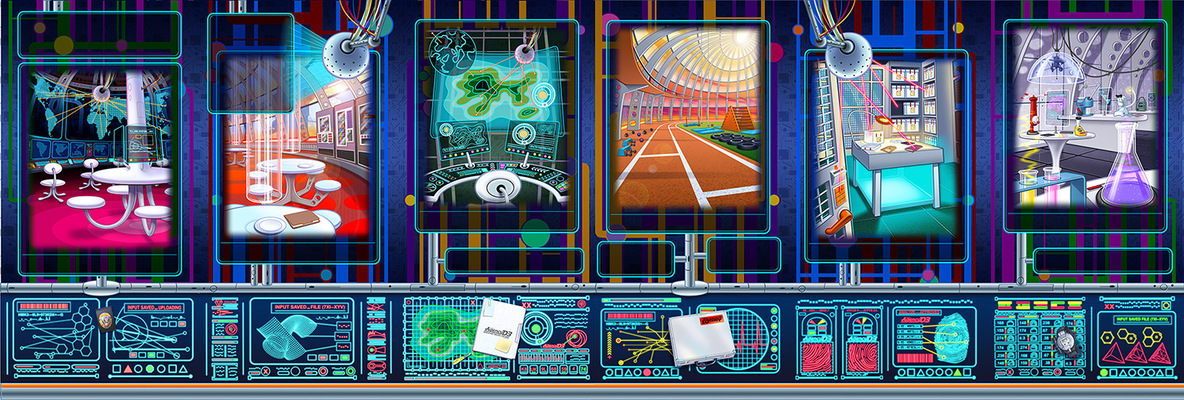 Geoffrey Brittingham all-nite illustration - Agency Control Panels
