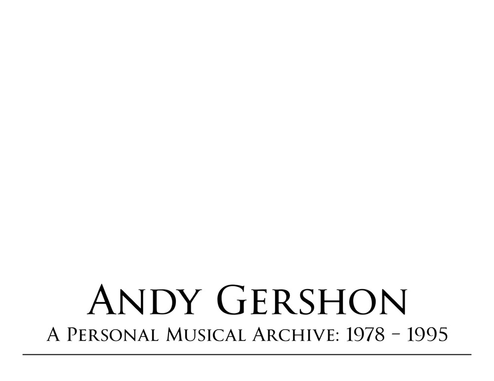Andy Gershon -
