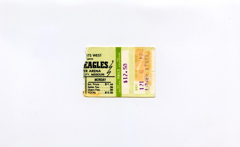 Andy Gershon Photography - Eagles June 23, 1980 Kemper Arena Kansas City, MO
