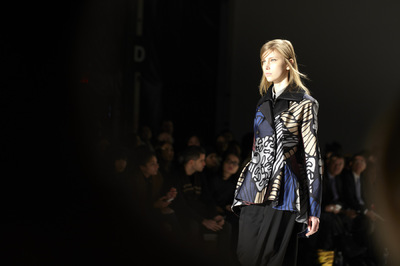 Audrey Froggatt - NYFW FW2015 Lie Sang Bong Lincoln Center Fashion Daily Magazine