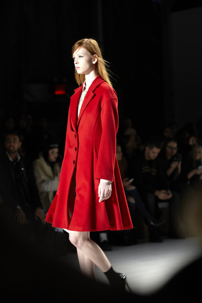Audrey Stimpson - NYFW FW2015 Lie Sang Bong Lincoln Center Fashion Daily Magazine