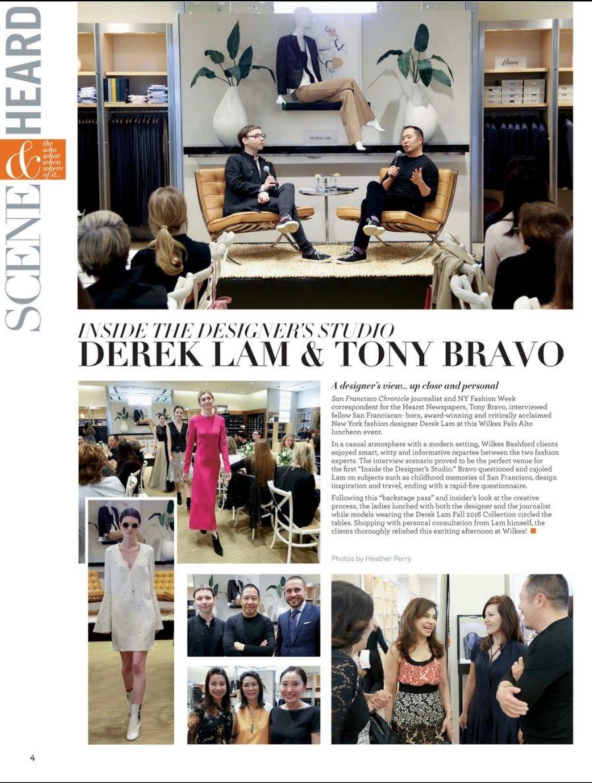 Heather Perry- Fashion Photography-San Francisco - Derek Lam for Wilkes Bashford Magazine