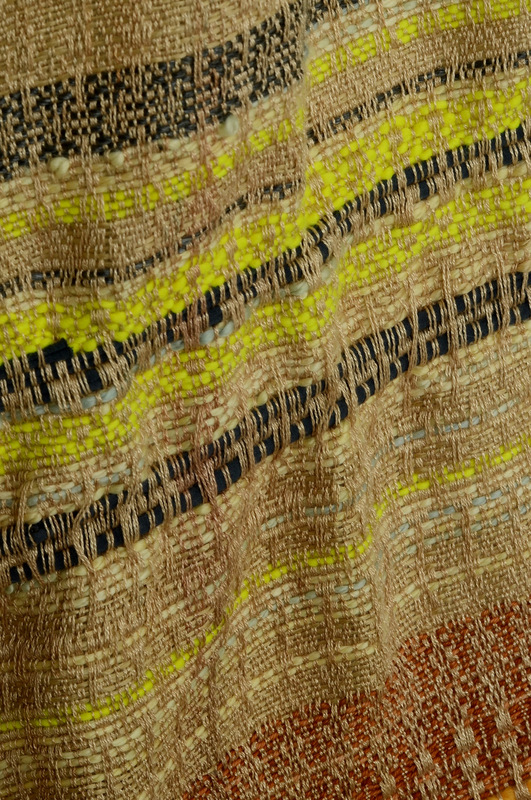 Daniela Guarin - Detail. Naturally dyed fabric