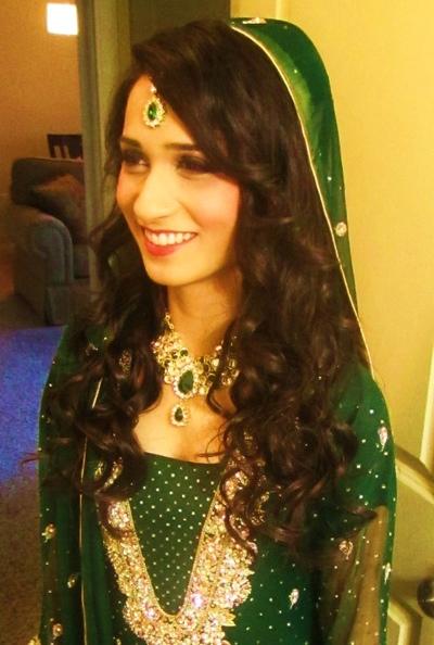 The Helwa Look - Mehndi Day