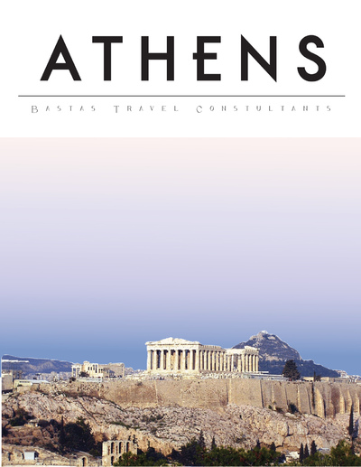 Natallie Rainer Graphic Design Portfolio - Athens Guide