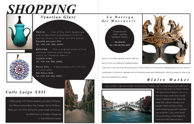 Natallie Rainer Graphic Design Portfolio - Venice Shopping