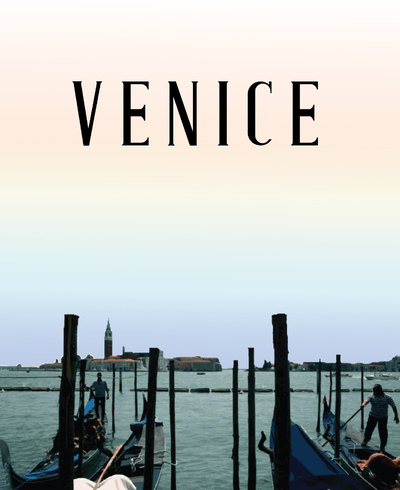 Natallie Rainer Graphic Design Portfolio - Venice Travel Guide