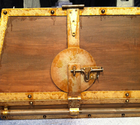 Tewksbury Arts - Close up custom hardware