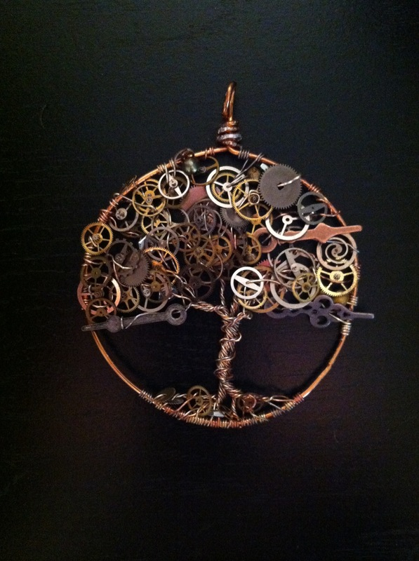 Tewksbury Arts - The Steam Punk Tree
