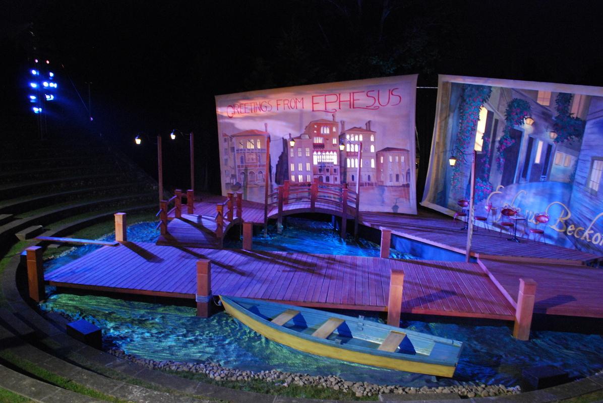 Tewksbury Arts - Under Stage Light