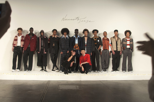 Gustavo Lopes - Backstage Necessity Senses debut presentation in NY for SS18