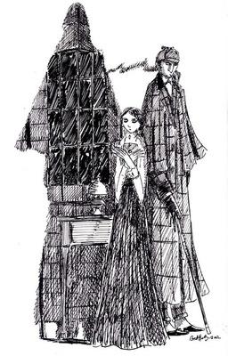 Bret M. Herholz - Unused Poster Art for Sherlock Holmes by William Gillette
