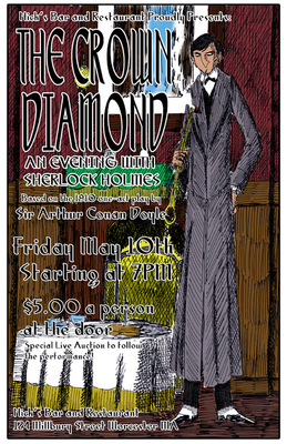 Bret M. Herholz - Poster art for The Crown Diamond