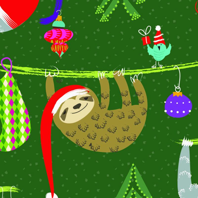 Tina Beans - Christmas sloths