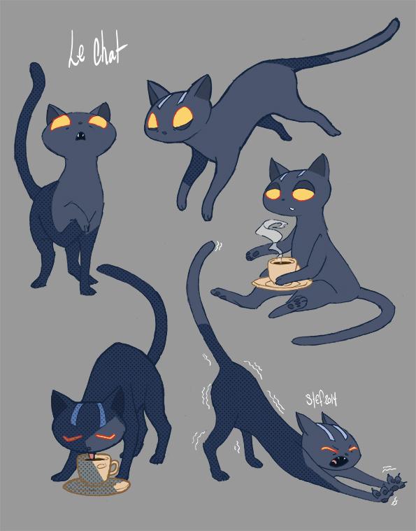 Domesticcat Concept Art