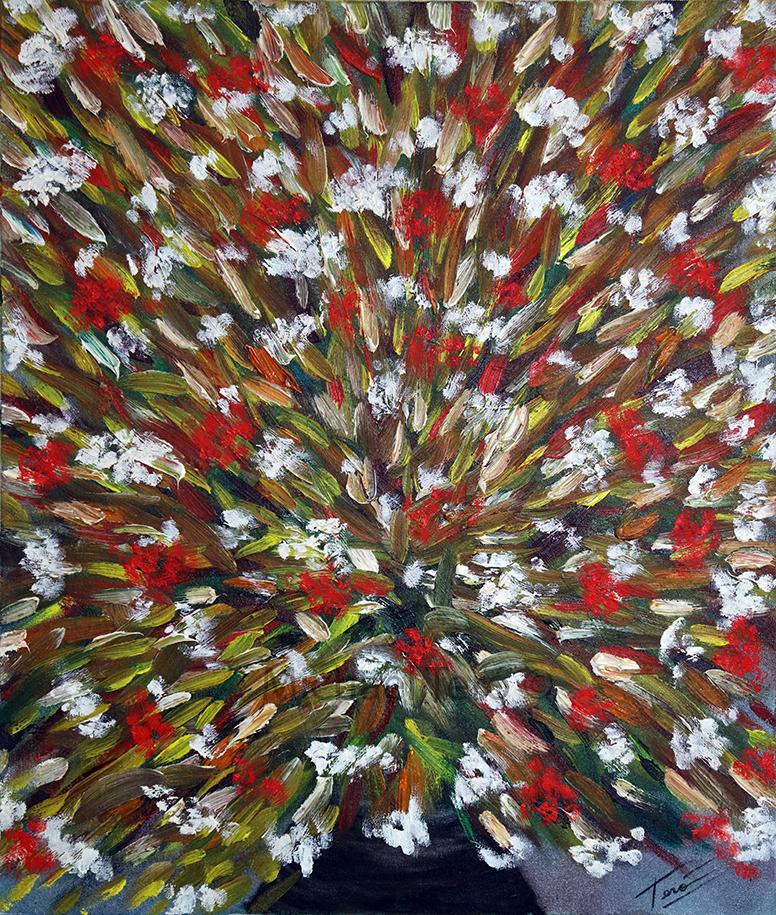 Michael Tero - Flowers Paintings