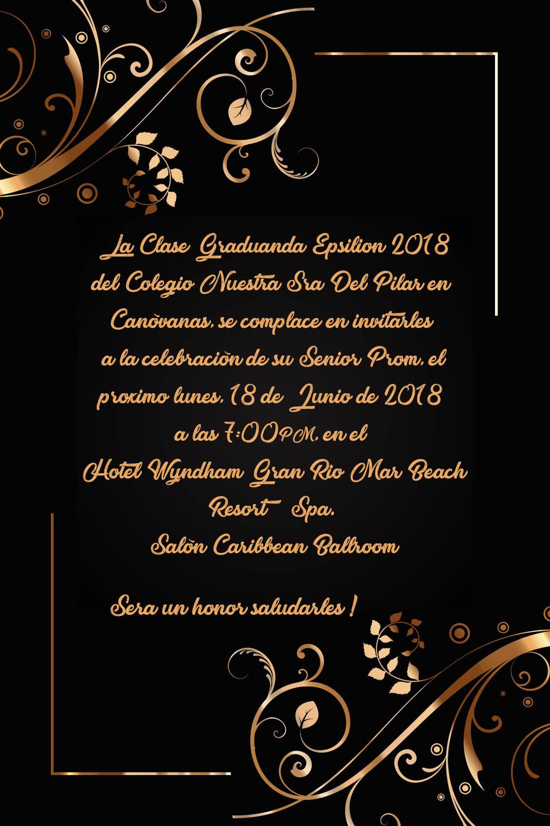 Manuel Indio - Invitations