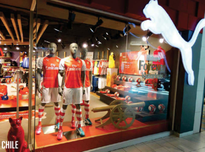 c3f508bd8 ... Store in London - as well as a Global launch to celebreate the new  partnership between PUMA and Arsenal - is the largerest launch of a Football  Club ...