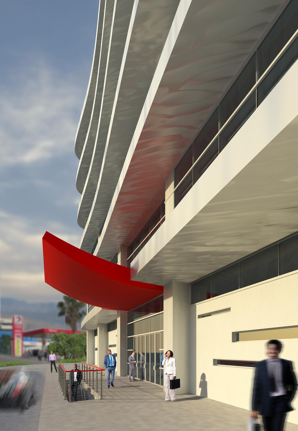 REINES & STRAZ - Architecture Interiors Planning - Office Building - Haiti*