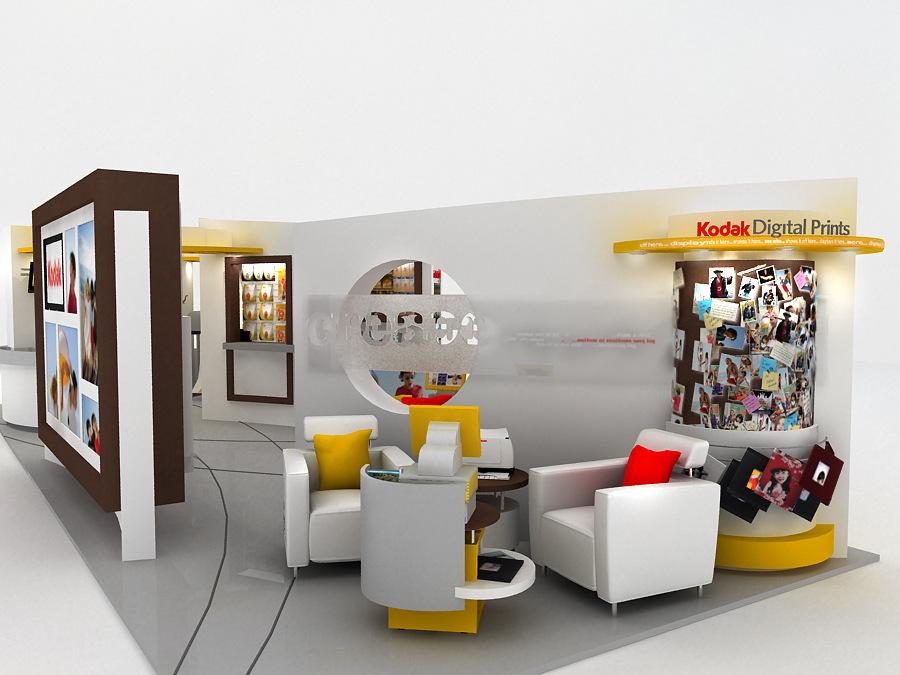 REINES & STRAZ - Architecture Interiors Planning - Kodak Stores Worldwide