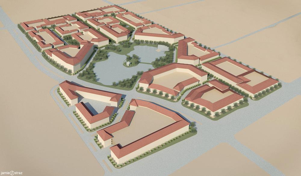 REINES & STRAZ - Architecture Interiors Planning - Sweetwater Town Center Master Plan*