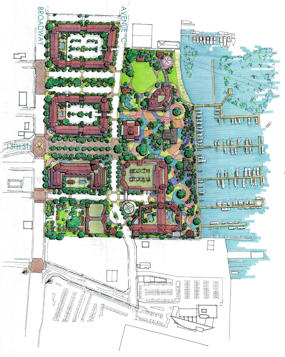 REINES & STRAZ - Architecture Interiors Planning - Riviera Beach Marina - Study*