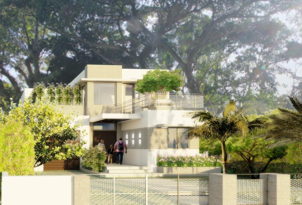 REINES & STRAZ - Architecture Interiors Planning - K Residence