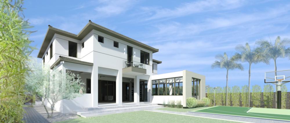 REINES & STRAZ - Architecture Interiors Planning - C Resdience
