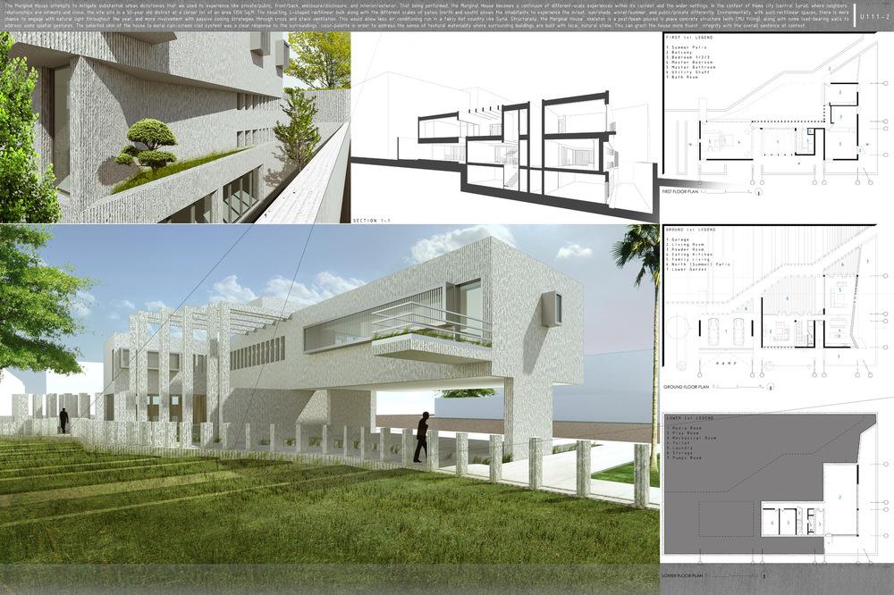 Enis Aldallal - Marginal house - II
