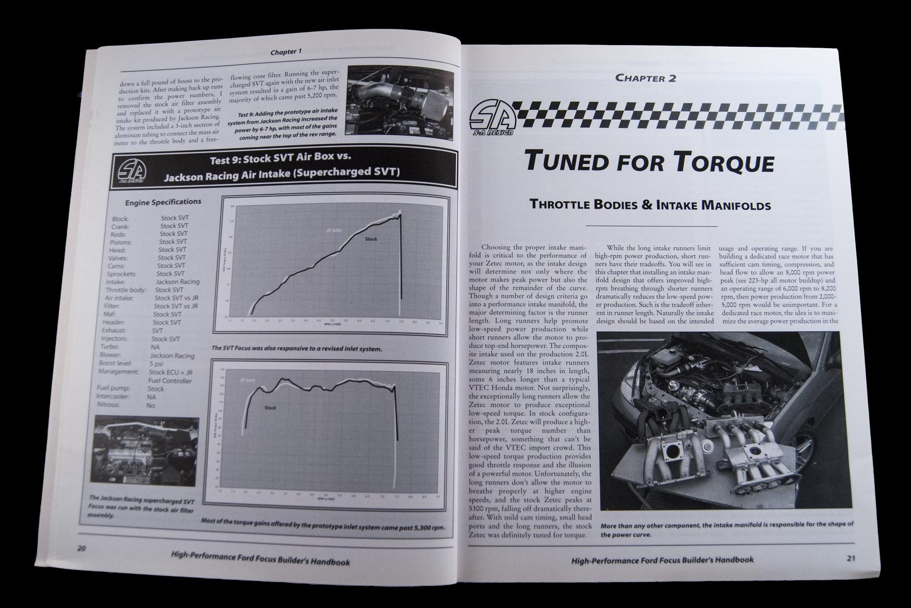 High-Performance Ford Focus Builder's Handbook