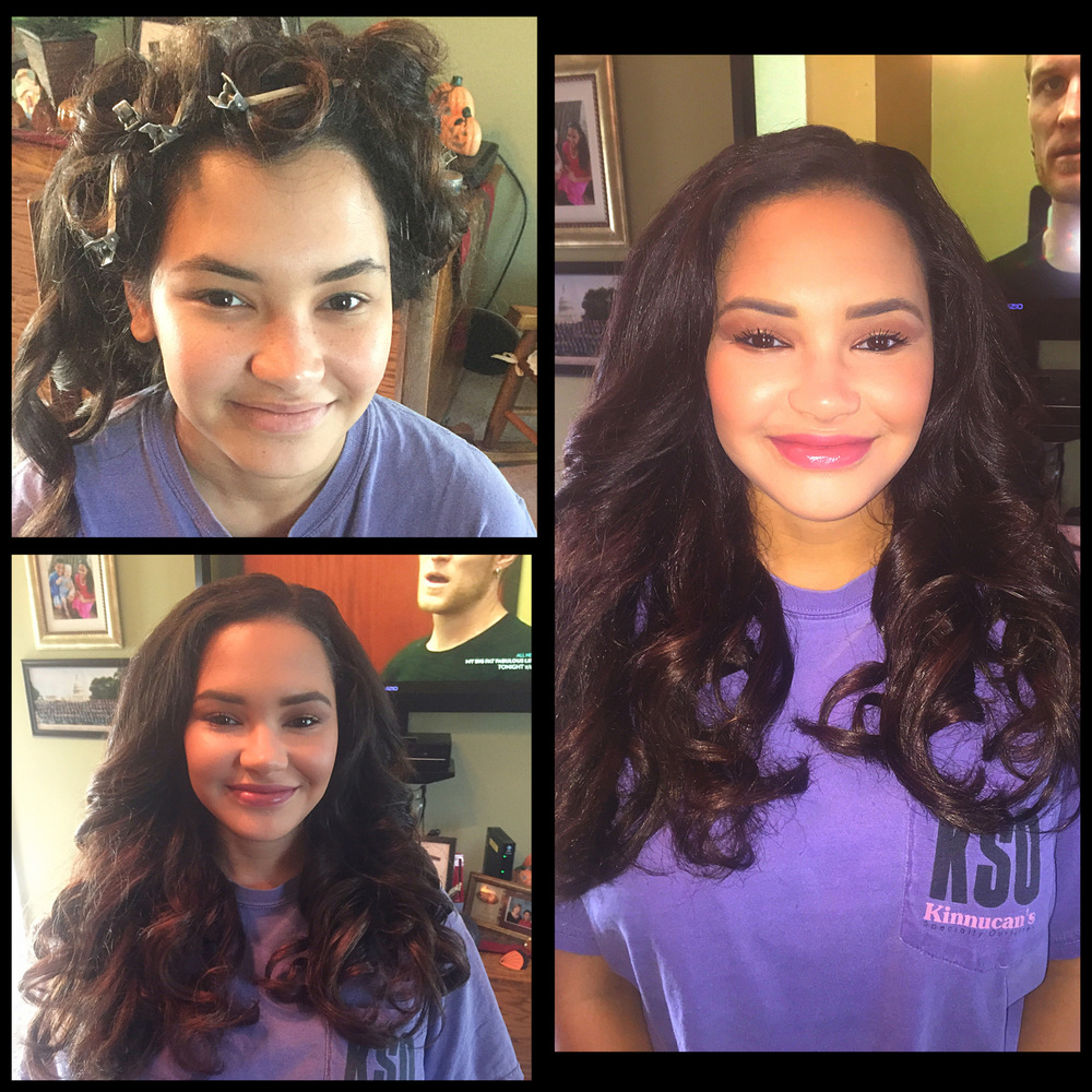 Before and After: Makeup Transformation