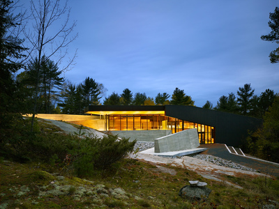 French River Visitor Centre • more info