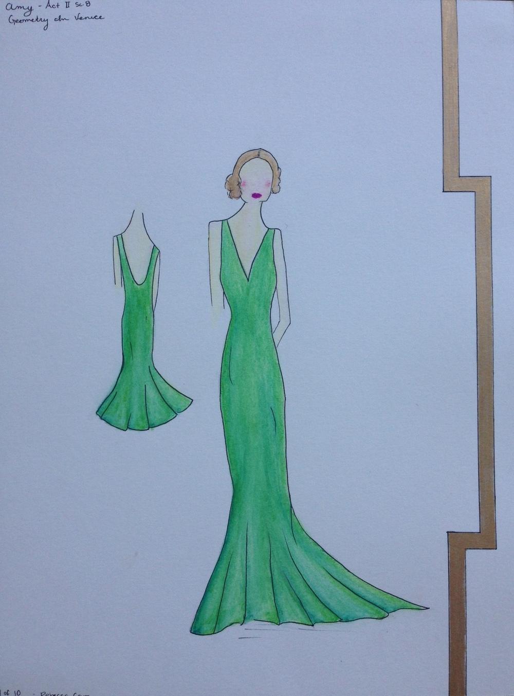 Rebecca Carr - Costume Design: Geometry in Venice