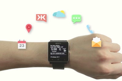 Augmented Smartwatch